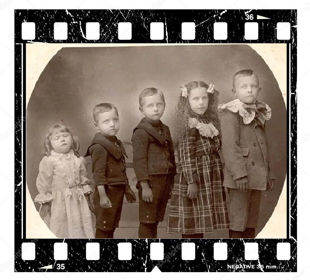 Дети в кадре